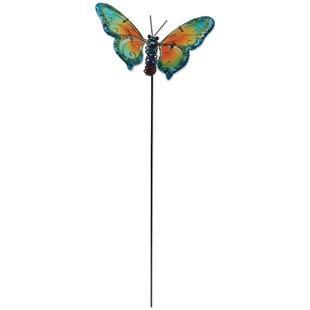 Genial Butterfly Garden Stake
