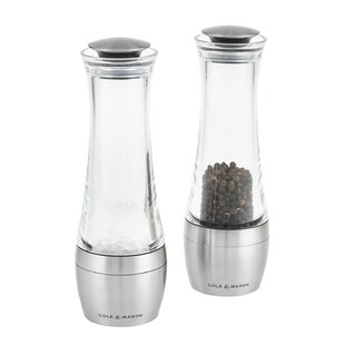 Amesbury Salt And Pepper Set (Set of 4) By Cole & Mason