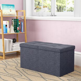 Guide to buy Earl Storage Ottoman By Ebern Designs