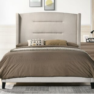Jennie Queen Upholstered Panel Bed by Canora Grey