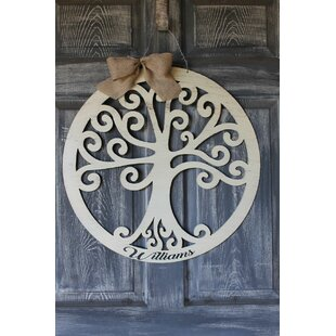 Tree of Life Door Hanger Wall D?cor by Southern Steel Designs