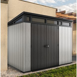 Keter Artisan 9 ft. W x 7ft. 5 in. D Plastic Storage Shed