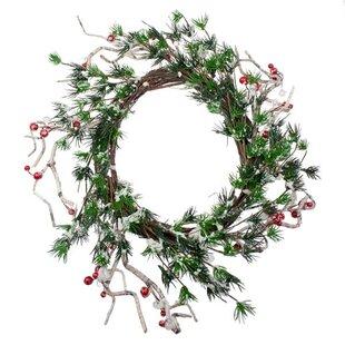 Berry Christmas Wreath By The Seasonal Aisle