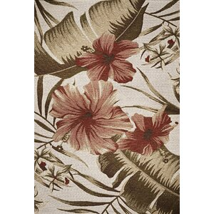 Maguire Hibiscus Indoor/Outdoor Area Rug