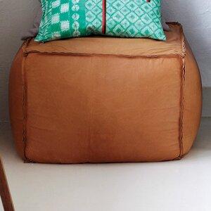Pouf Leder leder pouf turquoise pouf floral ottoman cube pouffe footrest