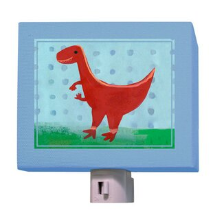 Oopsy Daisy Red Velociraptor Night Light