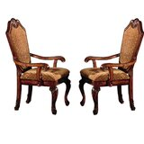 Caudillo Upholstered Dining Chair (Set of 2) by Astoria Grand