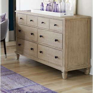 Justice 6 Drawer Double Dresser