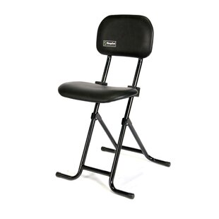 Height Adjustable Folding Sit-Stand Stool
