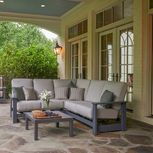 Leeward Sectional Seating Group with Cushions