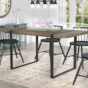 Madelyn Urban Blend Wood Dining Table by Laurel Foundry Modern Farmhouse Best