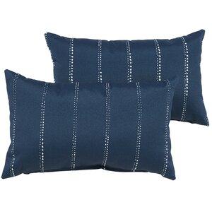 Balentine Outdoor Lumbar Pillow (Set of 2)