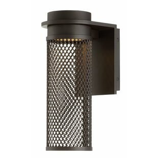Winston Porter Laforge 1 Light LED Outdoor Sconce