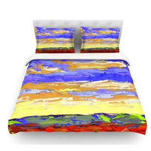 After the Storm by Jeff Ferst Featherweight Duvet Cover