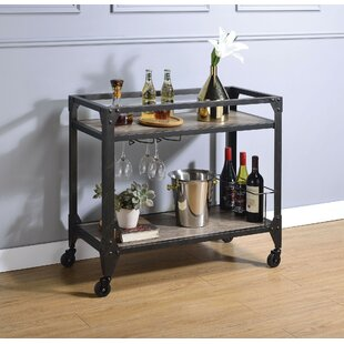 Ulrich Serving Bar Cart by Williston Forge