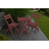 Woollard 3 Piece Bistro Set
