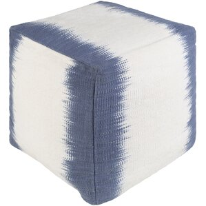 Strecker Pouf Ottoman by Latitude Run