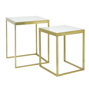 Harwood 2 Piece Nesting Tables