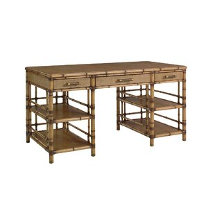 Twin Palms Solid Wood Writing Desk