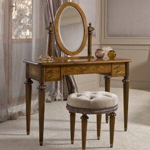 Annibale Colombo Elite Vanity with Mirror