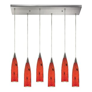 Bloomsbury Market Apolline 6-Light Glass ..