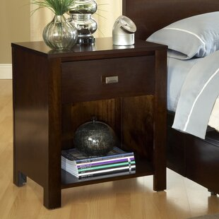 Gareth 1 Drawer Nightstand by Mistana New Design