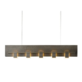 Hubbardton Forge 5-Light Kitchen Island Pendant