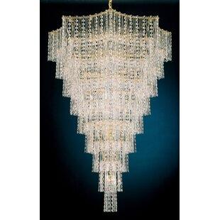 Schonbek Jubilee 33-Light Crystal Chandelier