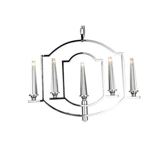 Calhoun 5-Light Kitchen Island Pendant by CWI Lighting