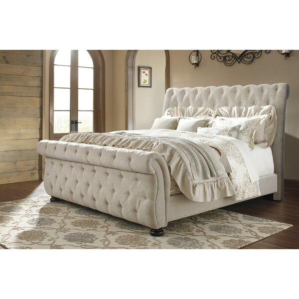 groupon bed tufted latest gg upholstered deals marietta button sleigh goods