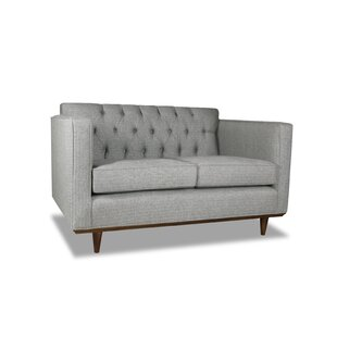 Corrigan Studio Dysart Plush Deep Loveseat