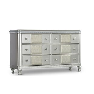 Taryn 6 Drawer Double Dresser