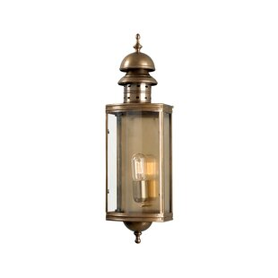 Cate Outdoor Wall Lantern by Longshore Ti..