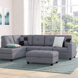 Ebern Designs Mauzy Left Facing Sectional..