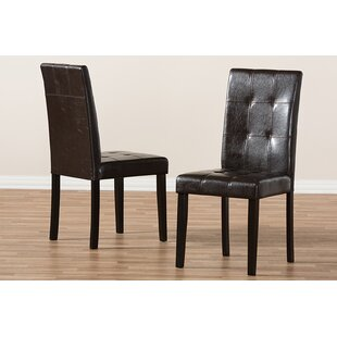 Hafley Upholstered Dining Chair (Set of 2)