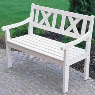 Wooden Bench By Beachcrest Home