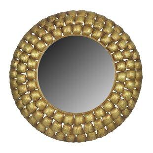 Bloomsbury Market Ebright Round Accent Mirror
