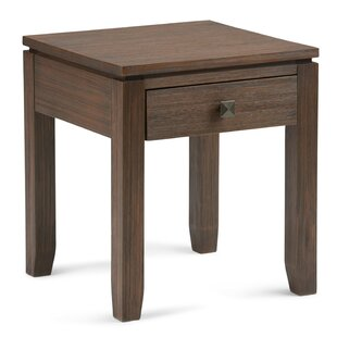 Find Amador End Table with Storage by Alcott Hill