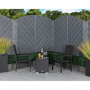 Evans 2 Seater Rattan Conversation Set By Sol 72 Outdoor