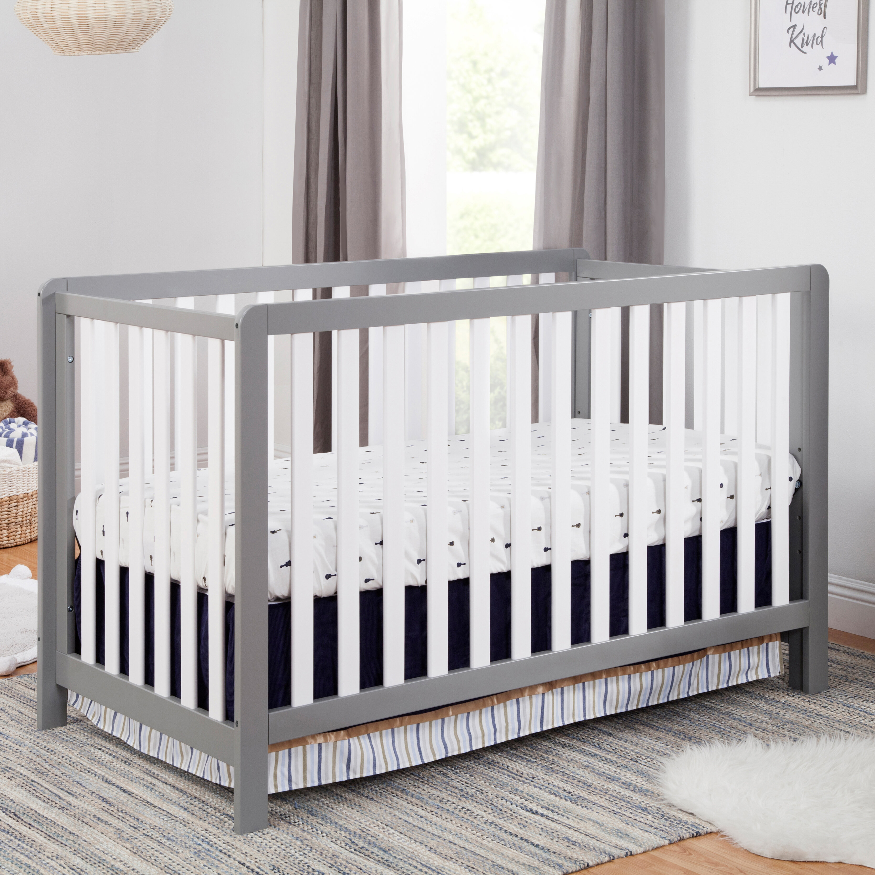 Washed Natural Carters by Davinci Colby 4-in-1 Convertible Crib