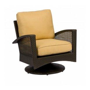 Woodard Trinidad Swivel Patio Chair with ..