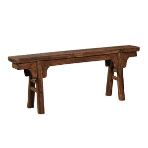 Peasant Wood Bench by Furniture Classics ..