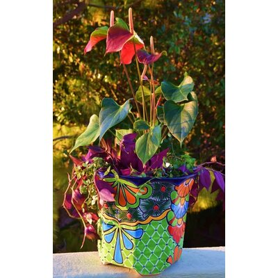 Meyer Ceramic Pot Planter Bloomsbury Market Size: 9.5 H x 10 W x 10 D