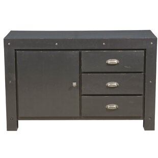 Blanton Industrial Style 3 Drawer or 1 Door Storage Accent Cabinet by Williston Forge
