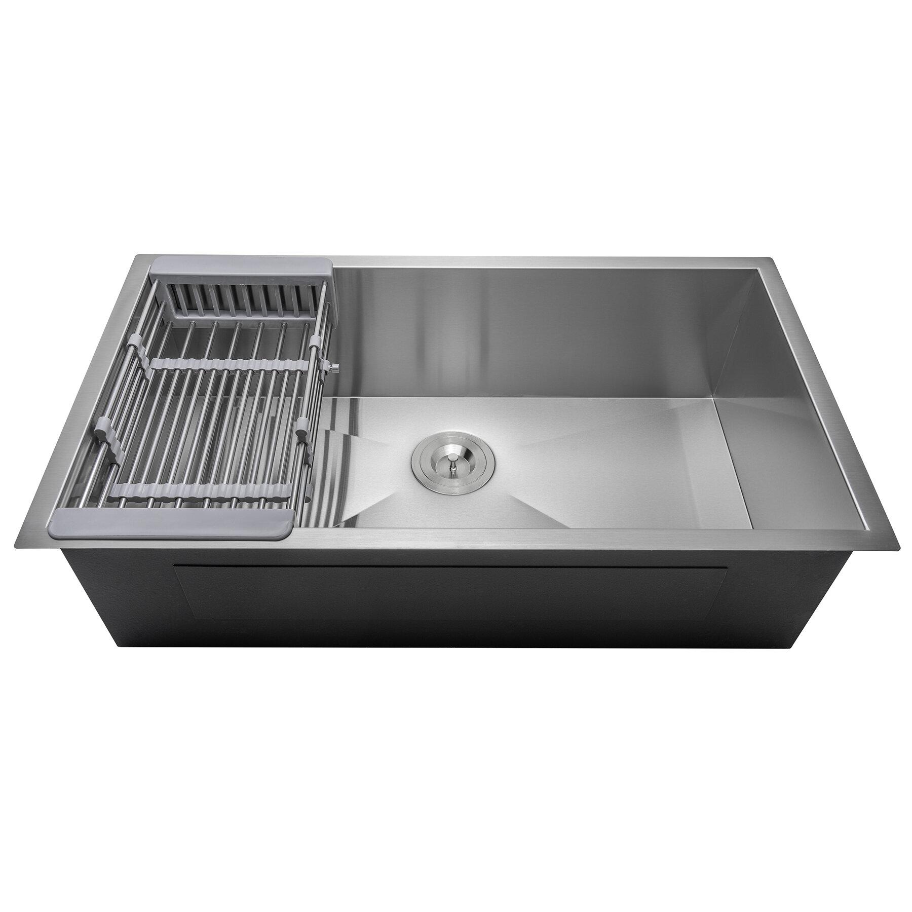 Akdy 33 X 22 Undermount Kitchen Sink