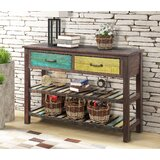 Ischia 45 Console Table by World Menagerie