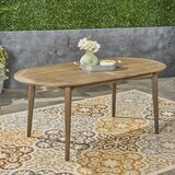 Meriam Solid Wood Dining Table