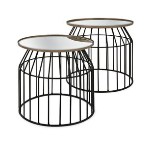 Big Save Roseann End Table (Set of 2) by Williston Forge