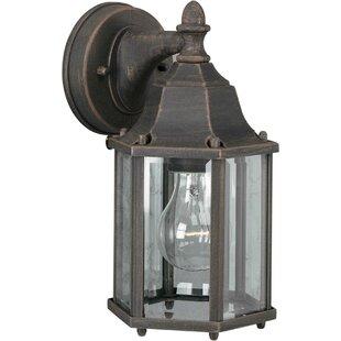 Spradling 1-Light Outdoor Wall Lantern by Charlton Home