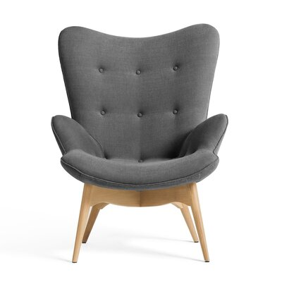 Cheadle Lounge Chair Upholstery Color: Light Gray by Brayden Studio